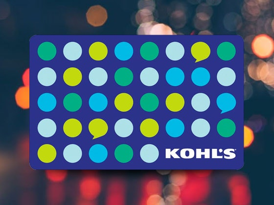 Kohl's Gift Card  sweepstakes