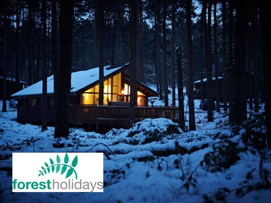 a Luxury UK cabin break sweepstakes