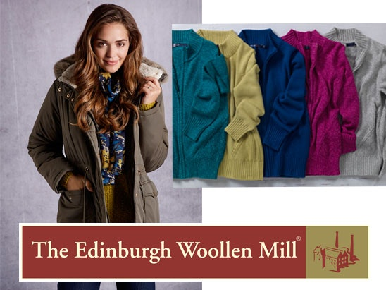 £100 shopping spree with The Edinburgh Woollen Mill sweepstakes