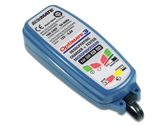 Optimate 3 Global Battery Charger & Maintainer sweepstakes