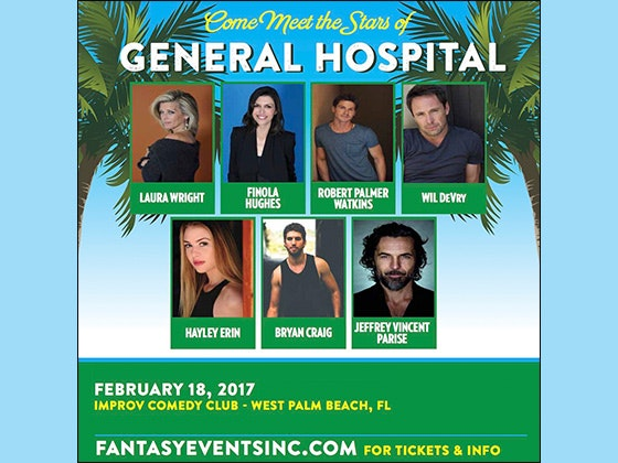 VIP Soap Opera Package for West Palm Beach sweepstakes