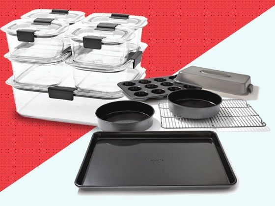 Calphalon and Rubbermaid Bakeware Set sweepstakes
