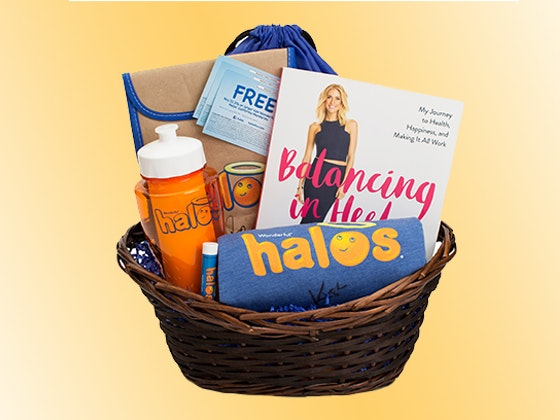 Halos Gift Basket Featuring Items Signed by Kristin Cavallari sweepstakes