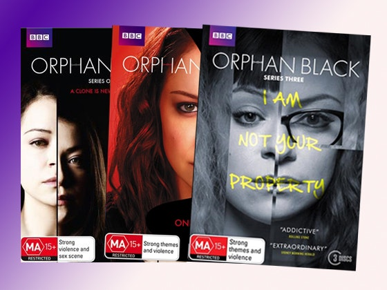 Orphan Black DVD Prize Pack sweepstakes