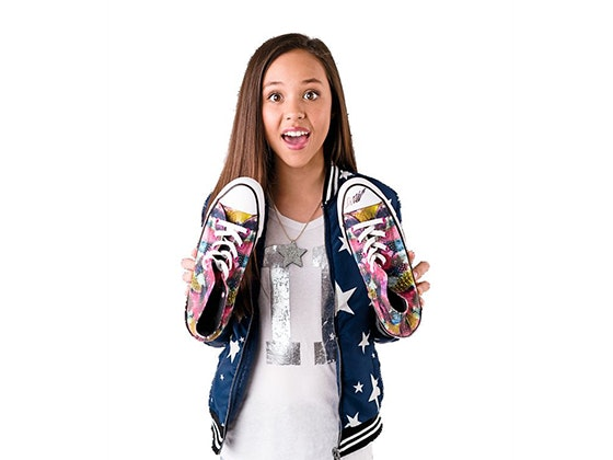 J-14: Breanna Yde Converse Shoes sweepstakes