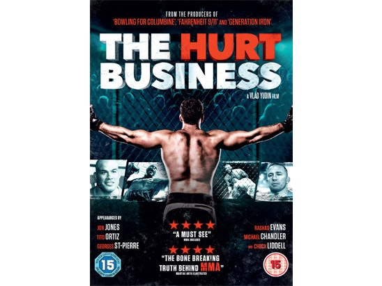 THE HURT BUSINESS DVD sweepstakes
