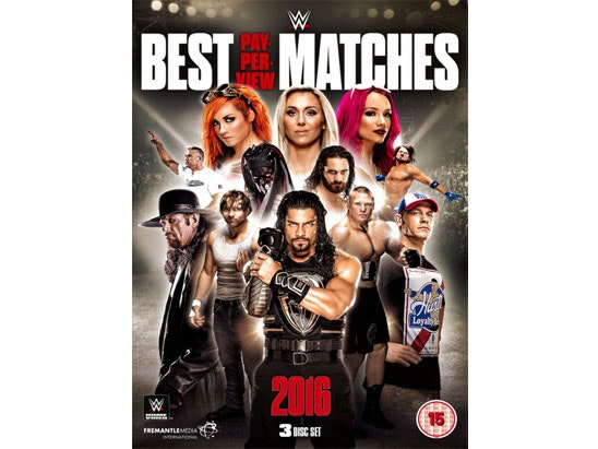 WWE - The Best Pay Per View Matches 2016  sweepstakes