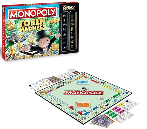 MONOPOLY TOKEN MADNESS GAME sweepstakes