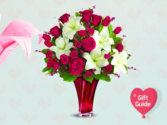 V-Day Gift Guide: Teleflora Love's Passion Bouquet sweepstakes