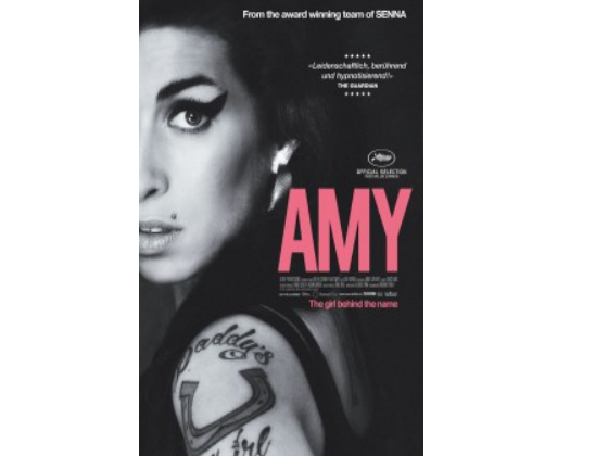 Amy DVD sweepstakes