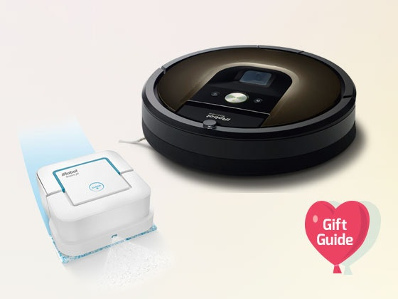 V-Day Gift Guide: iRobot Roomba and Braava Jet sweepstakes