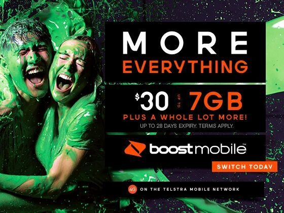 Year's worth of $30 Prepaid Vouchers with Boost Mobile sweepstakes