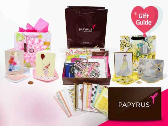 V-day Gift Guide: Papyrus Stationery and Gift Card sweepstakes