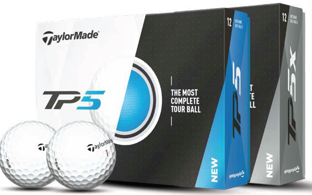 WIN TaylorMade TP5 Balls for a YEAR sweepstakes