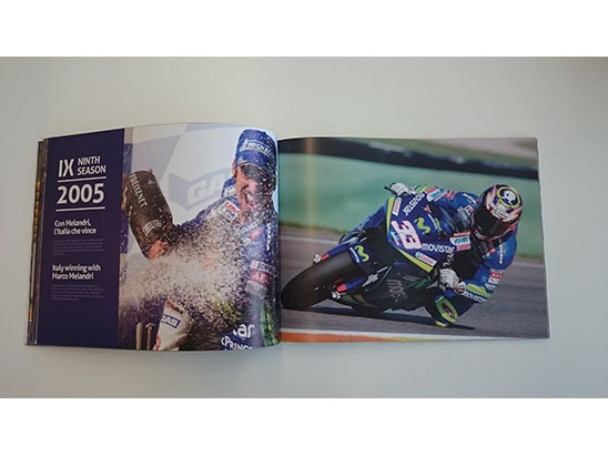 Gresini Racing 20th Annual Racing Book sweepstakes