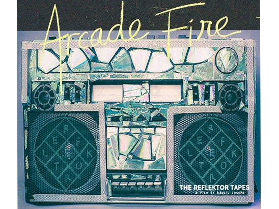 """""""The Reflektor Tapes"""" by Arcade Fire  sweepstakes"""