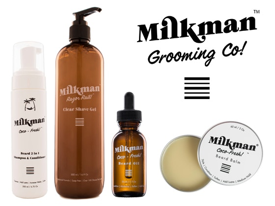 Milkman Grooming Co Prize Pack for Him for Valentine's Day sweepstakes