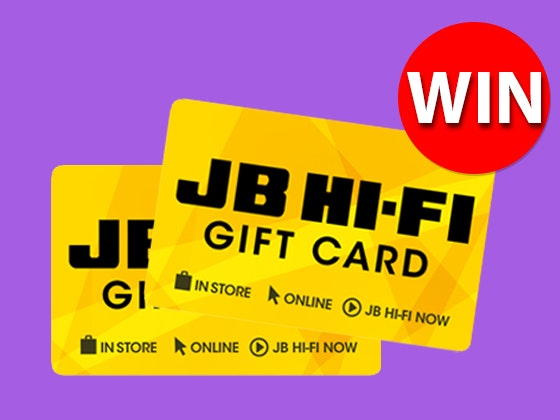 JB Hi-Fi $150 Gift Card sweepstakes