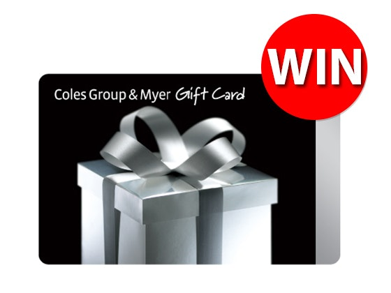 Coles Myer $100 Gift Card sweepstakes