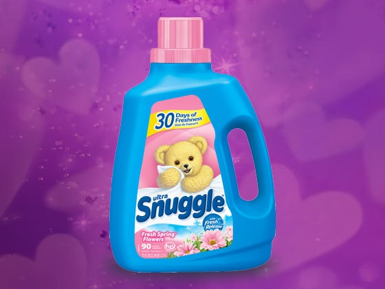 Snuggle Laundry Detergent and Snuggle Bear sweepstakes