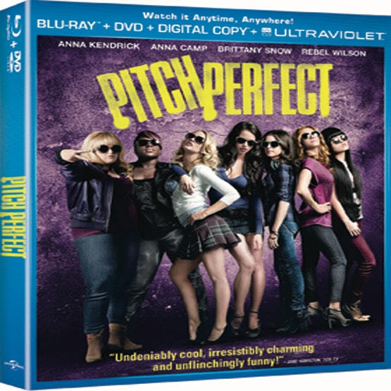 Pitch Perfect DVD sweepstakes
