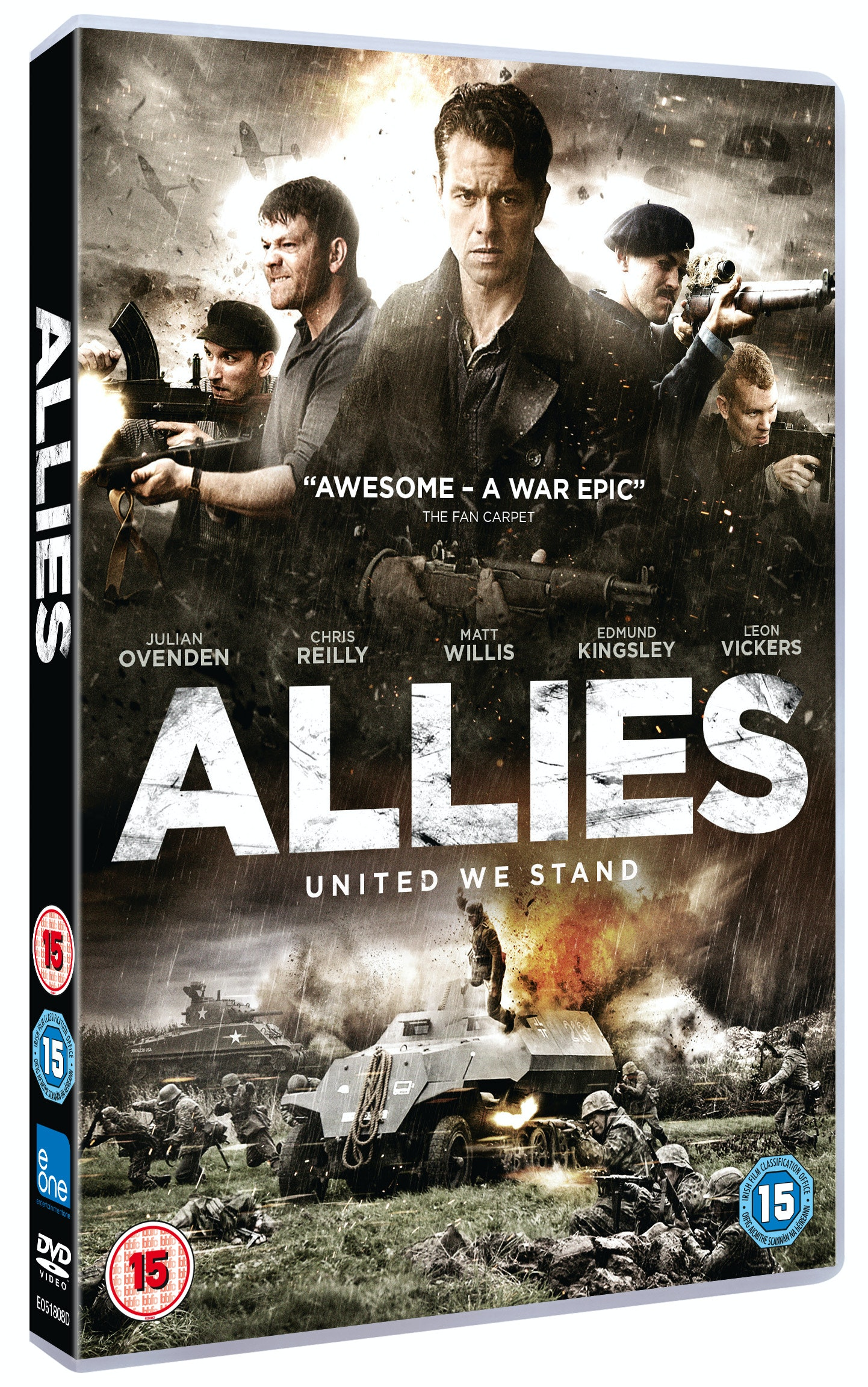 Allies DVD sweepstakes