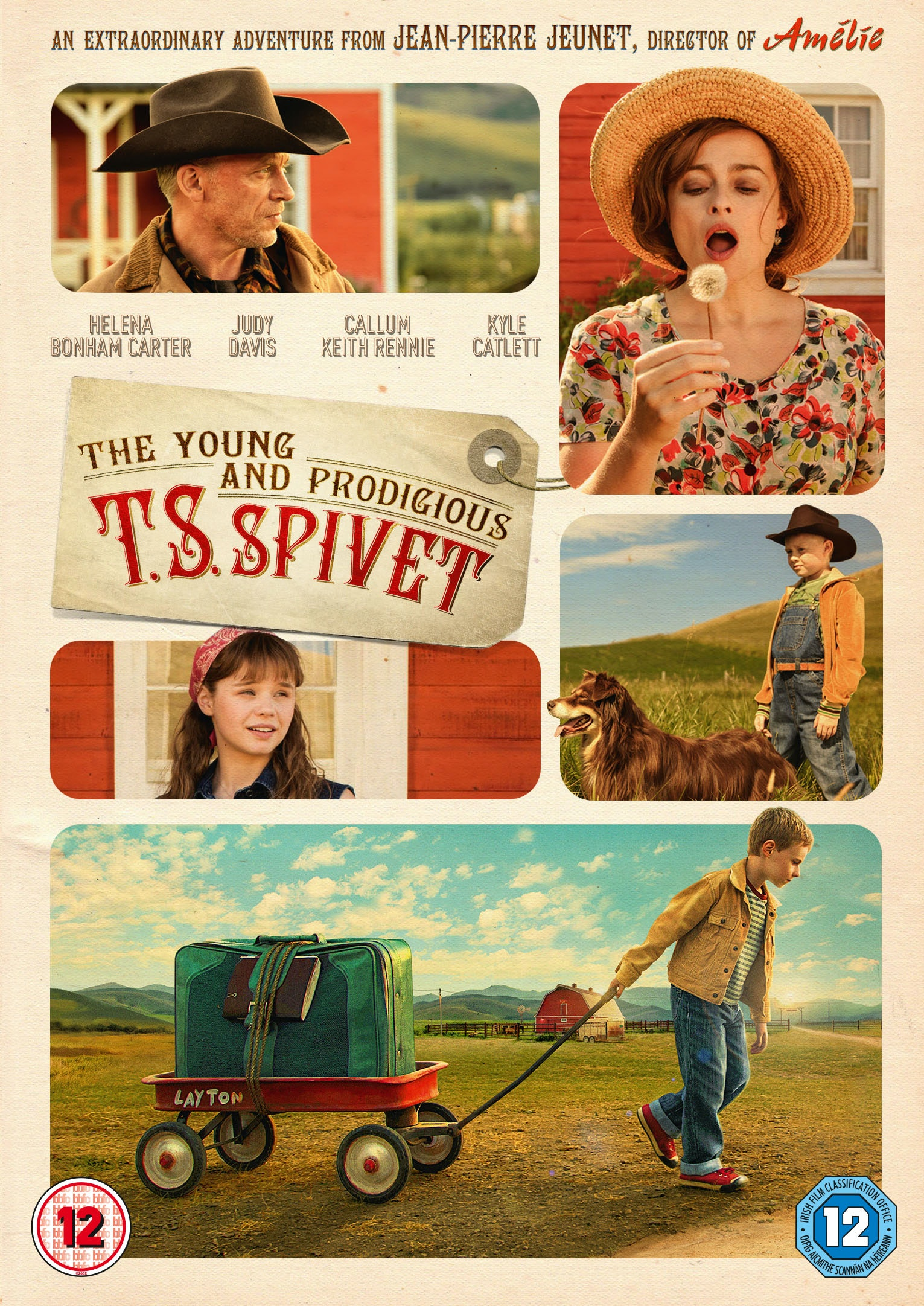 The Young and Prodigious T.S Spivet  sweepstakes
