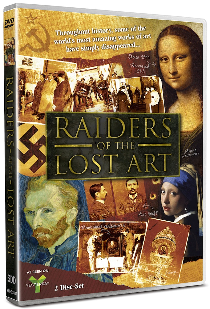 RAIDERS OF THE LOST ART sweepstakes