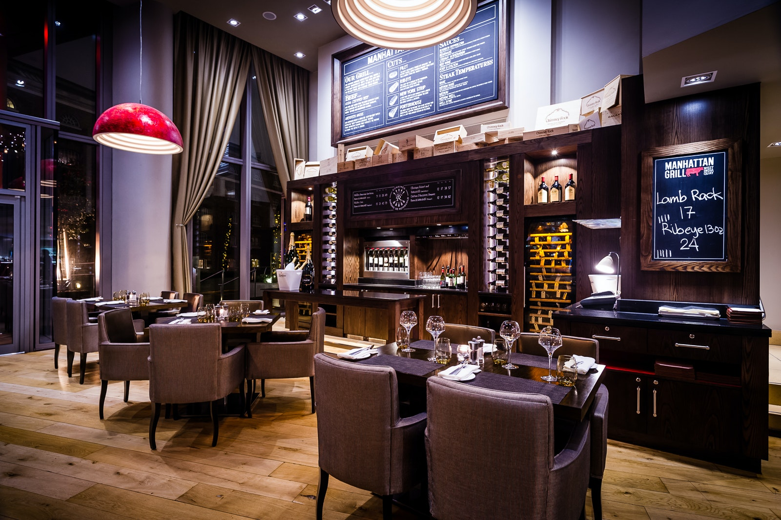 Dinner for 2 at manhattan grill sweepstakes