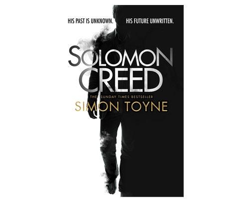 Solomon Creed by Simon Toyne sweepstakes