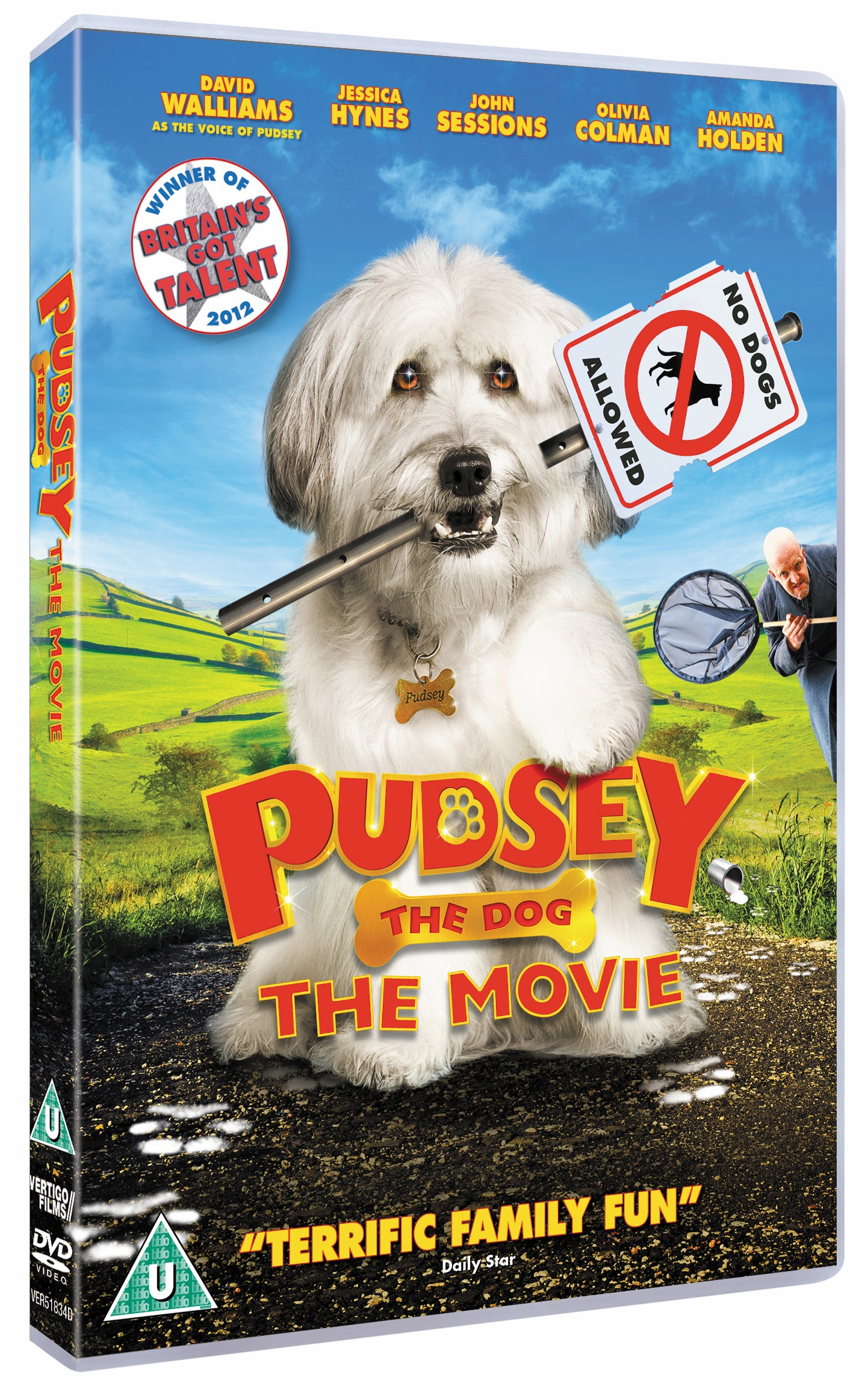 Pudsey the dog sweepstakes
