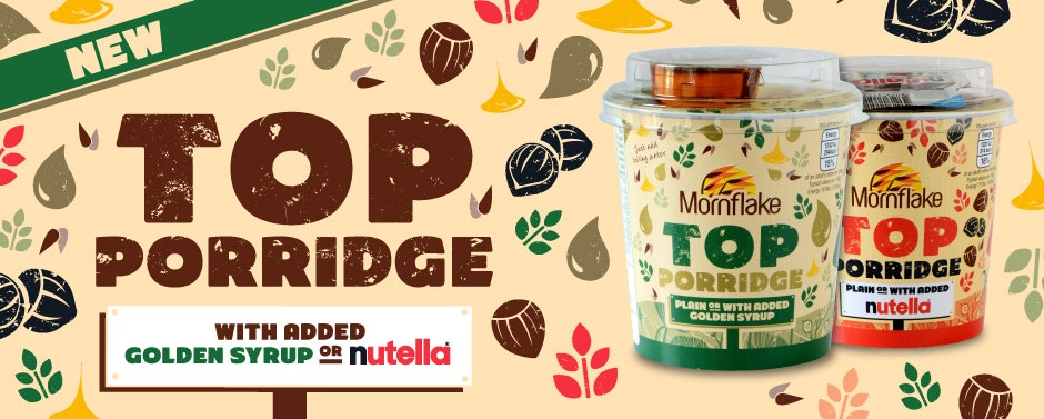 Mornflake Instant porridge hot pots sweepstakes