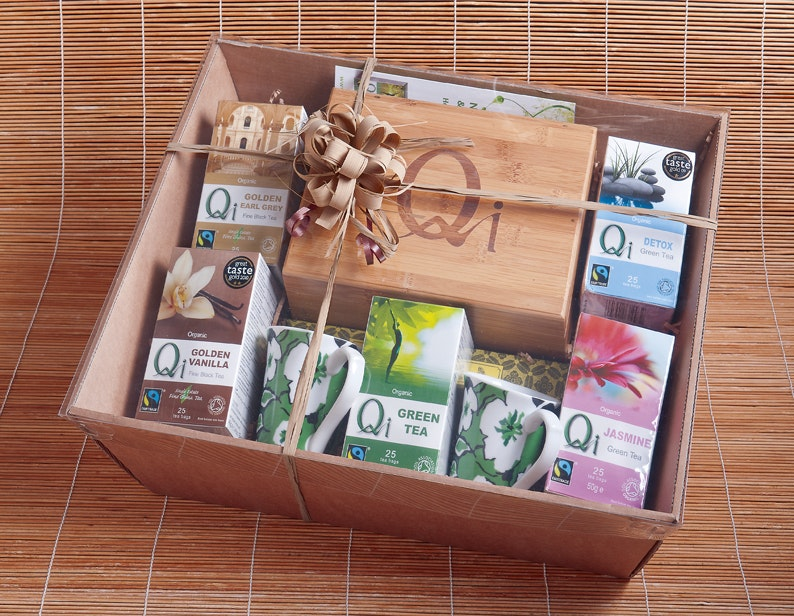 Qi Tea hamper sweepstakes