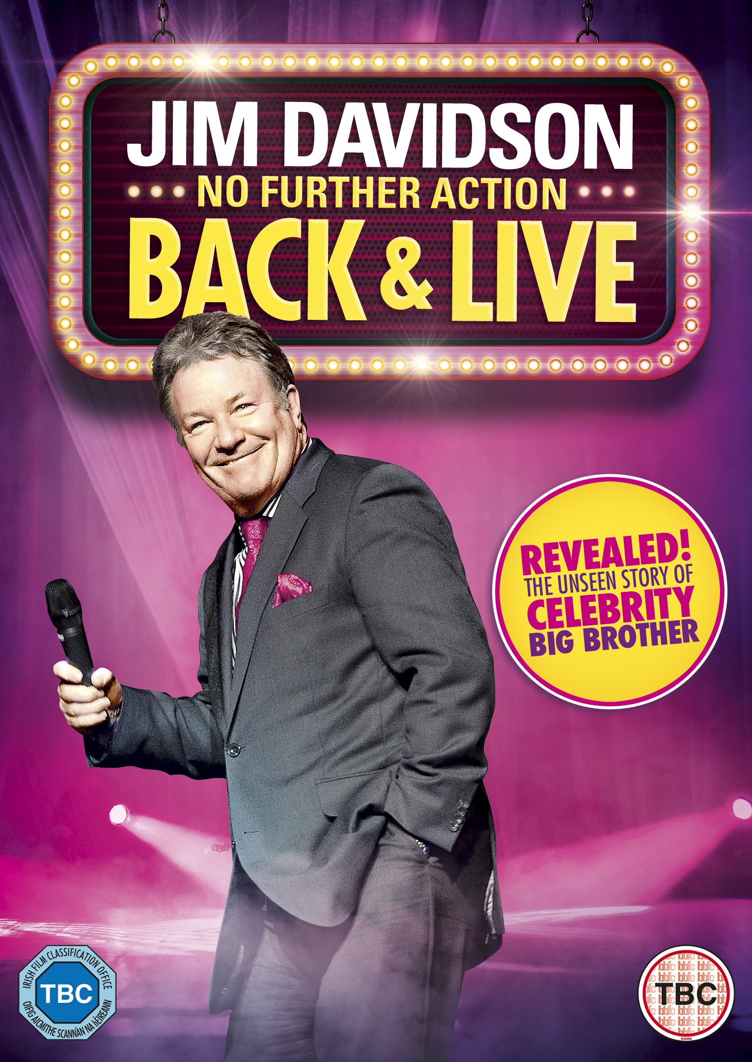 Jim Davidson Back & Live  sweepstakes