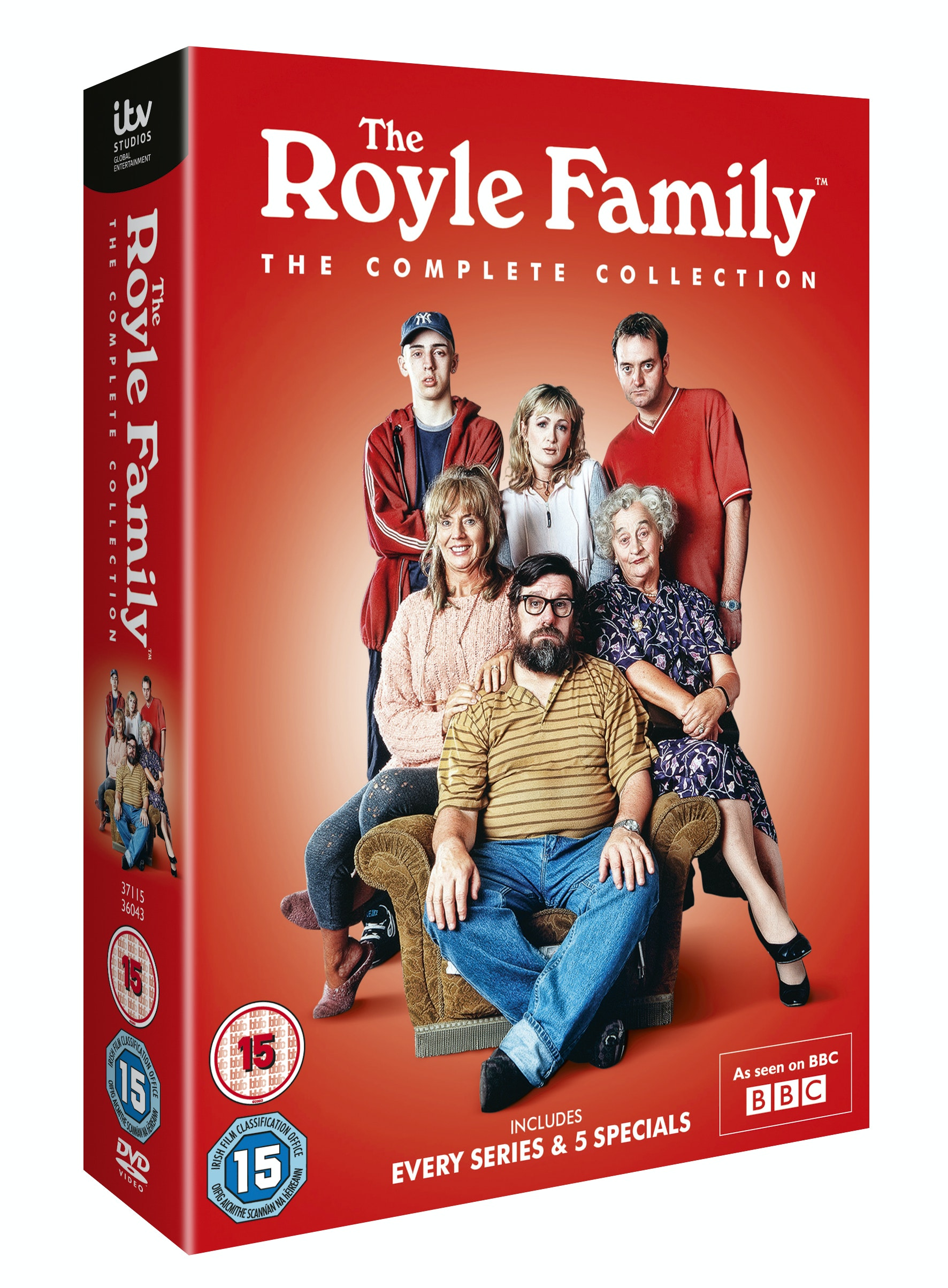 The Royle Family The Complete Collection sweepstakes