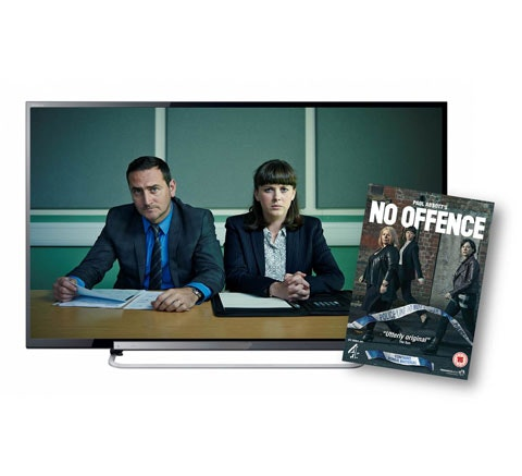 Win a 32 inch LED TV & No Offence DVD sweepstakes
