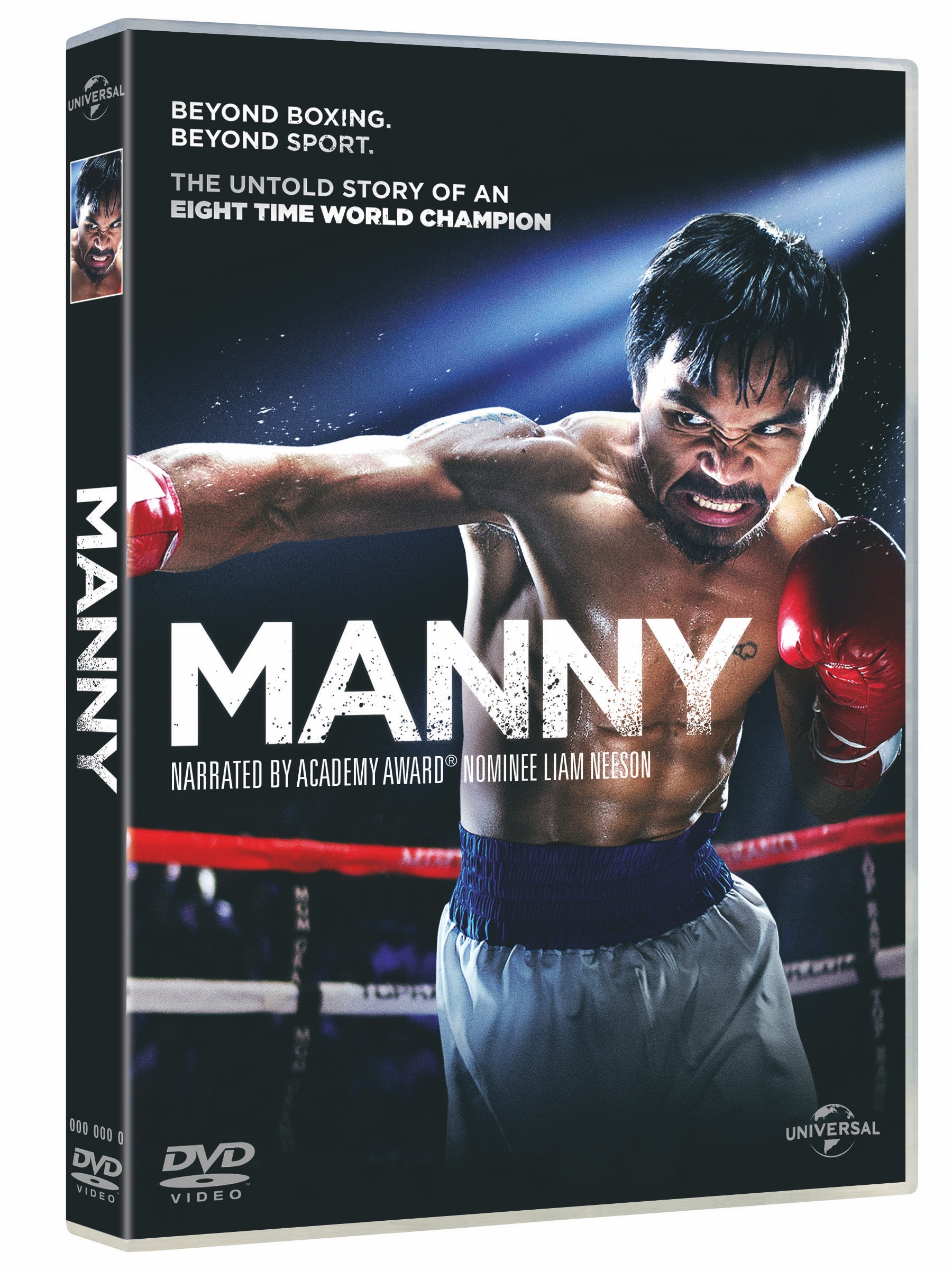 a copy of Manny on DVD and a Manny poster sweepstakes