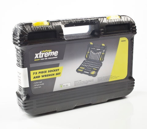 Challenge Xtreme 75 Piece Socket and Wrench Set sweepstakes