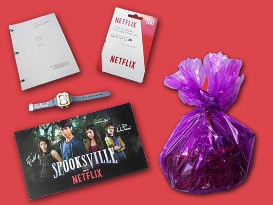 Spooksville merchandise, netflix gift card sweepstakes