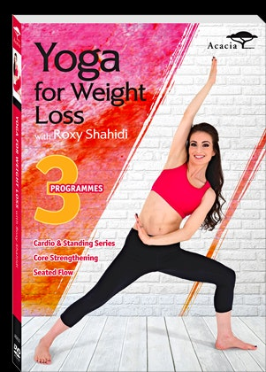 Yoga for Weight Loss with Roxy Shahidi DVDs sweepstakes