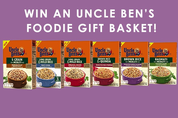 Uncle bens july giveaway sm
