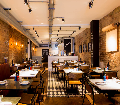 a meal for four at The Real Greek St Martin's Lane  sweepstakes