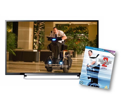 Paul Blart:Mail Cop 2 DVD sweepstakes