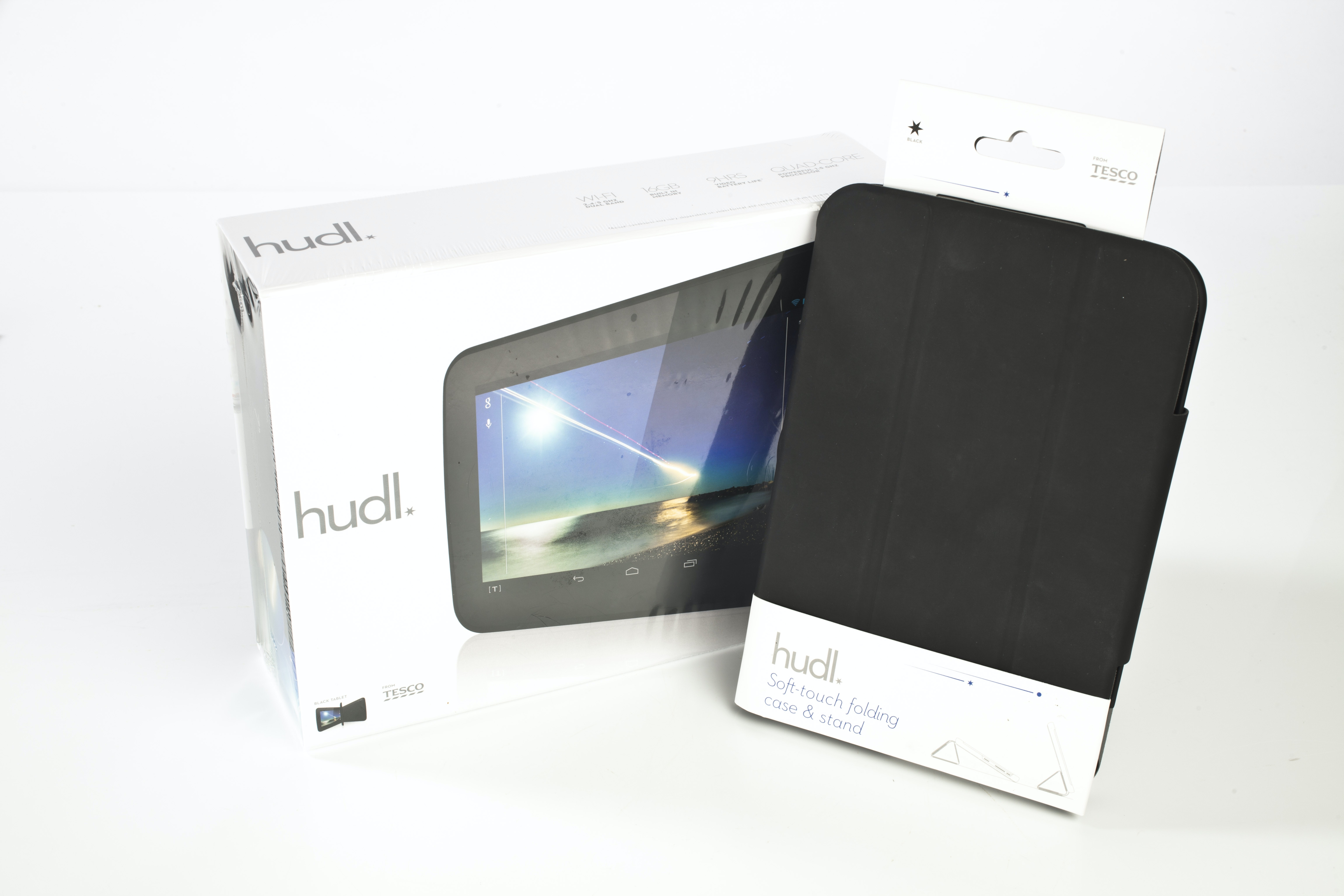 Hudl Android Tablet and case/stand sweepstakes