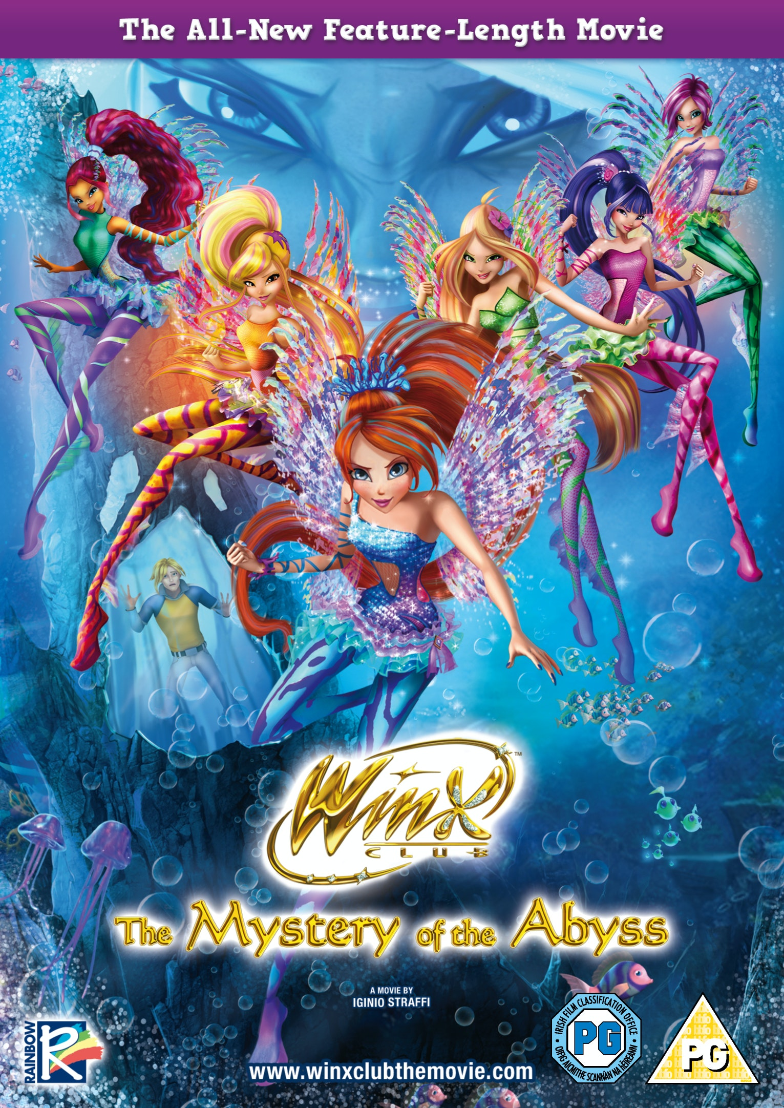 Winx Club: The Mystery of the Abyss DVD sweepstakes