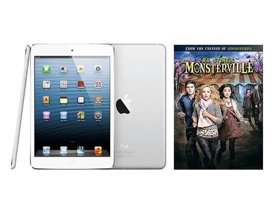 iPad mini and MONSTERVILLE: CABINET OF SOULS DVD sweepstakes
