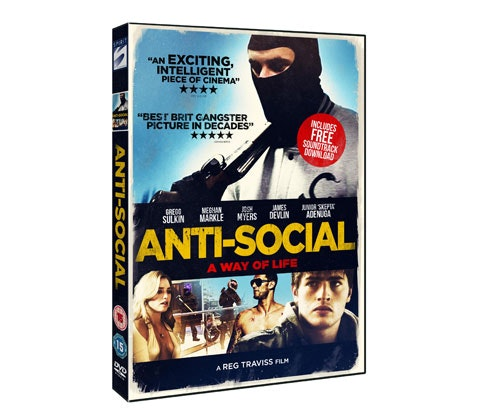 Anti Social DVD sweepstakes